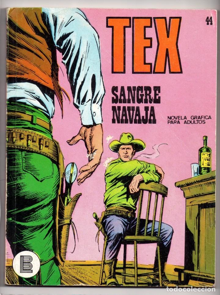 Nº 44 TEX BURU LAN , S.A. 1971 (Tebeos y Comics - Buru-Lan - Tex)