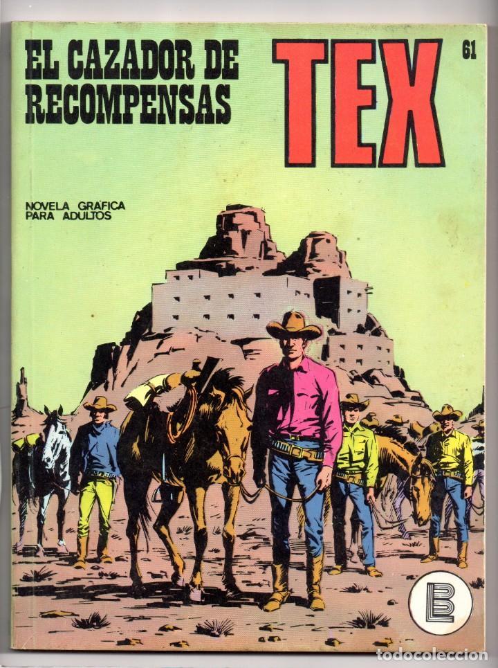 Nº 61 TEX BURU LAN , S.A. 1971 (Tebeos y Comics - Buru-Lan - Tex)