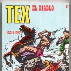Cómics: Nº 67 TEX BURU LAN , S.A. 1971. Lote 212009598