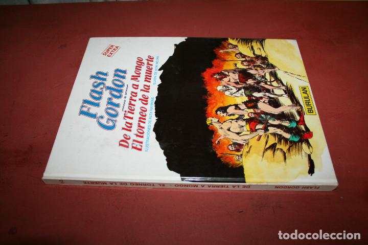 Cómics: FLASH GORDON, DE LA TIERRA A MONGO... - RAYMOND / MOORE - BURULAN - 1984 - Foto 2 - 212229073
