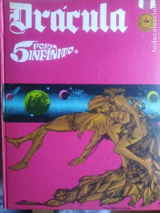 Cómics: Dracula. 5 X infinito. Delta 99. Burulan 1971. - Foto 2 - 212339806