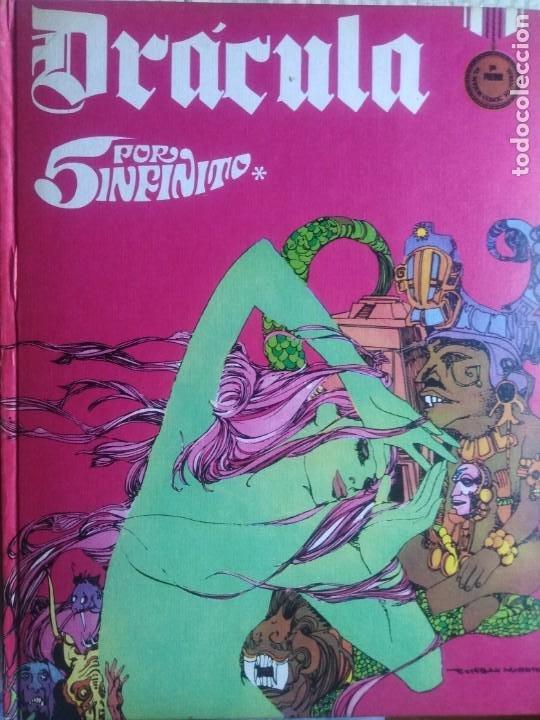 Cómics: Dracula. 5 X infinito. Delta 99. Burulan 1971. - Foto 3 - 212339806