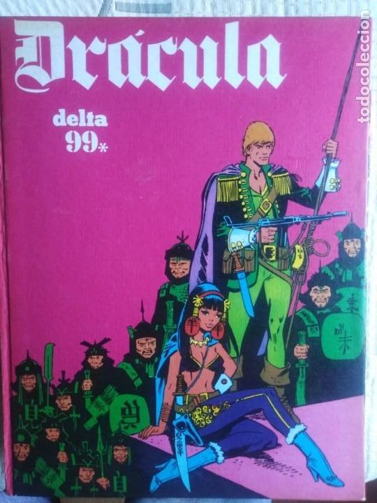 Cómics: Dracula. 5 X infinito. Delta 99. Burulan 1971. - Foto 4 - 212339806