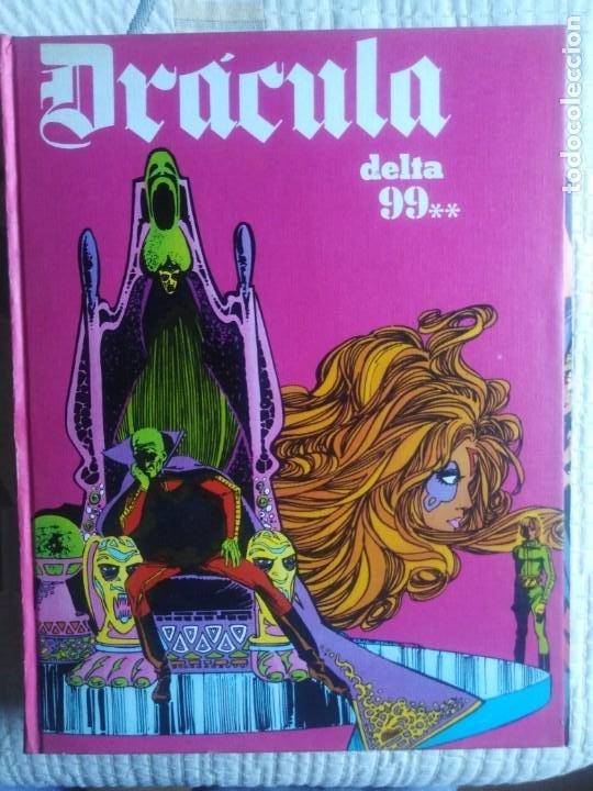 Cómics: Dracula. 5 X infinito. Delta 99. Burulan 1971. - Foto 5 - 212339806