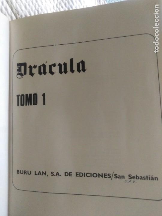 Cómics: Dracula. 5 X infinito. Delta 99. Burulan 1971. - Foto 7 - 212339806