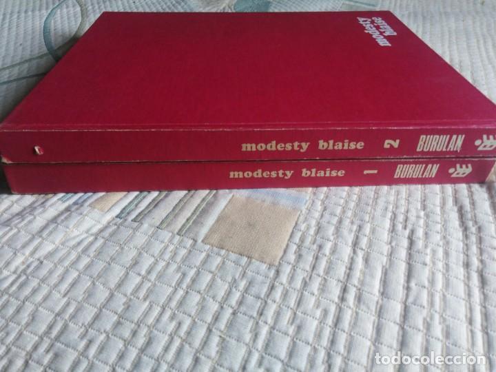 MODESTY BLAISE. BURULAN. COMPLETA. (Tebeos y Comics - Buru-Lan - Modesty Blaise)