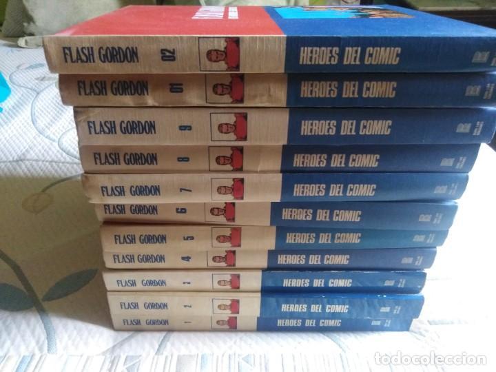 FLASH GORDON. BURULAN. 11 TOMOS. COMPLETA. (Tebeos y Comics - Buru-Lan - Flash Gordon)