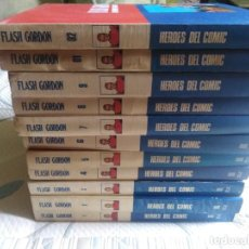 Cómics: FLASH GORDON. BURULAN. 11 TOMOS. COMPLETA.. Lote 212357881