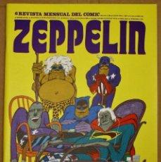 Comics : ZEPPELIN. REVISTA MENSUAL DEL COMIC. Nº 6. AÑO 1973. Lote 212698926