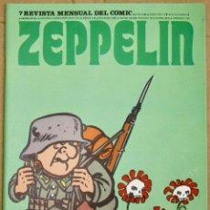 Comics : ZEPPELIN. REVISTA MENSUAL DEL COMIC. Nº 7. AÑO 1973. Lote 212699022