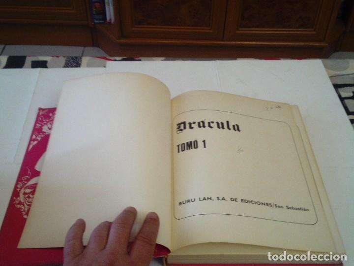 Cómics: DRACULA - BURU LAN - COLECCION COMPLETA - 6 TOMOS+ 1 TOMO CON PORTADAS- BE - GORBAUD - Foto 7 - 53978865