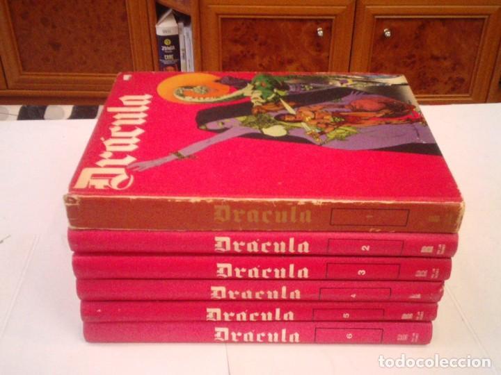 DRACULA - BURU LAN - COLECCION COMPLETA - 6 TOMOS+ 1 TOMO CON PORTADAS- BE - GORBAUD (Tebeos y Comics - Buru-Lan - Drácula)