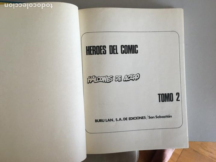 Cómics: HALCONES DE ACERO COLECCION COMPLETA EN 2 TOMOS BURULAN (COIB101) - Foto 3 - 212807066