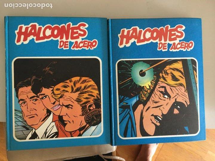HALCONES DE ACERO COLECCION COMPLETA EN 2 TOMOS BURULAN (COIB101) (Tebeos y Comics - Buru-Lan - Rahan)