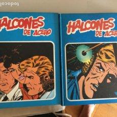 Cómics: HALCONES DE ACERO COLECCION COMPLETA EN 2 TOMOS BURULAN (COIB101). Lote 212807066