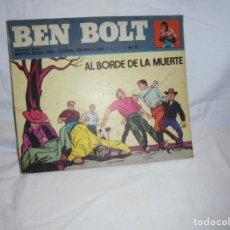 Cómics: BEN BOLT Nº 9 AL BORDE DE LA MUERTE.EDICIONES BURULAN 1973. Lote 212825952