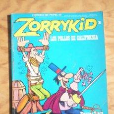 Comics : ZORRYKID 3 LOS POLLOS DE CALIFORNIA -HEROES DE PAPEL 12 BURU LAN. Lote 213435377