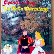Cómics: LA BELLA DURMIENTE - GIGANTES DISNEY N 9- RÚSTICA GRAN FORMATO - ED BURU LAN 1973. Lote 213464873