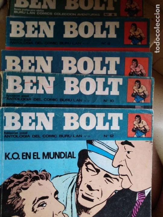 BEN BOLT ANTOLOGIA DEL OMIC BURU LAN 12 10 1 5 8 9 SON 6 DIFERENTES ESTADOS DE CONSERVACION (Tebeos y Comics - Buru-Lan - Otros)