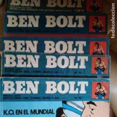 Cómics: BEN BOLT ANTOLOGIA DEL OMIC BURU LAN 12 10 1 5 8 9 SON 6 DIFERENTES ESTADOS DE CONSERVACION. Lote 213965937