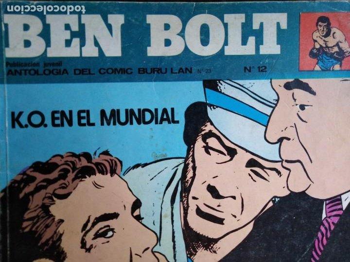 Cómics: BEN BOLT ANTOLOGIA DEL OMIC BURU LAN 12 10 1 5 8 9 SON 6 DIFERENTES ESTADOS DE CONSERVACION - Foto 2 - 213965937