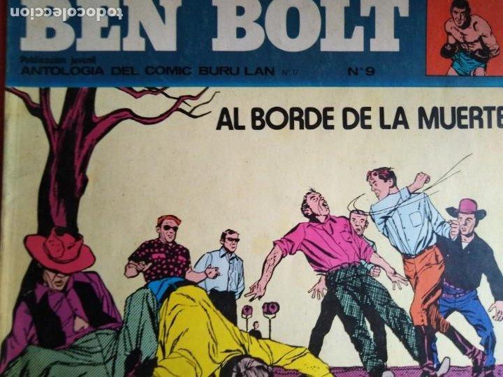 Cómics: BEN BOLT ANTOLOGIA DEL OMIC BURU LAN 12 10 1 5 8 9 SON 6 DIFERENTES ESTADOS DE CONSERVACION - Foto 4 - 213965937