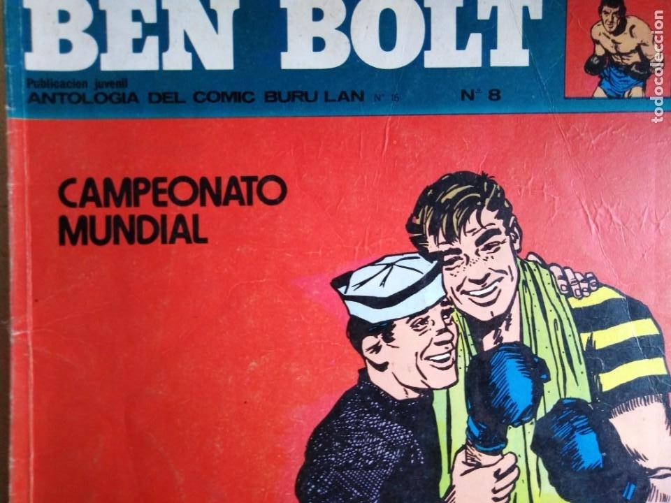 Cómics: BEN BOLT ANTOLOGIA DEL OMIC BURU LAN 12 10 1 5 8 9 SON 6 DIFERENTES ESTADOS DE CONSERVACION - Foto 5 - 213965937