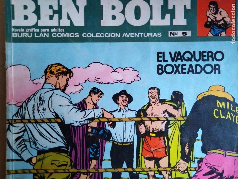 Cómics: BEN BOLT ANTOLOGIA DEL OMIC BURU LAN 12 10 1 5 8 9 SON 6 DIFERENTES ESTADOS DE CONSERVACION - Foto 6 - 213965937