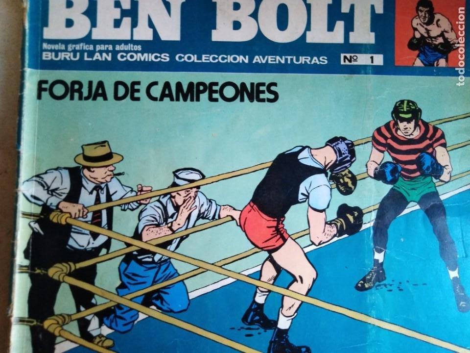 Cómics: BEN BOLT ANTOLOGIA DEL OMIC BURU LAN 12 10 1 5 8 9 SON 6 DIFERENTES ESTADOS DE CONSERVACION - Foto 7 - 213965937