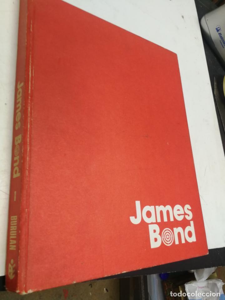 JAMES BOND ED. BURULAN 1974 TOMO 1 TAPA DURA (Tebeos y Comics - Buru-Lan - James Bond)