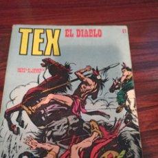 Comics: TEX EL DIABLO. Lote 214107231