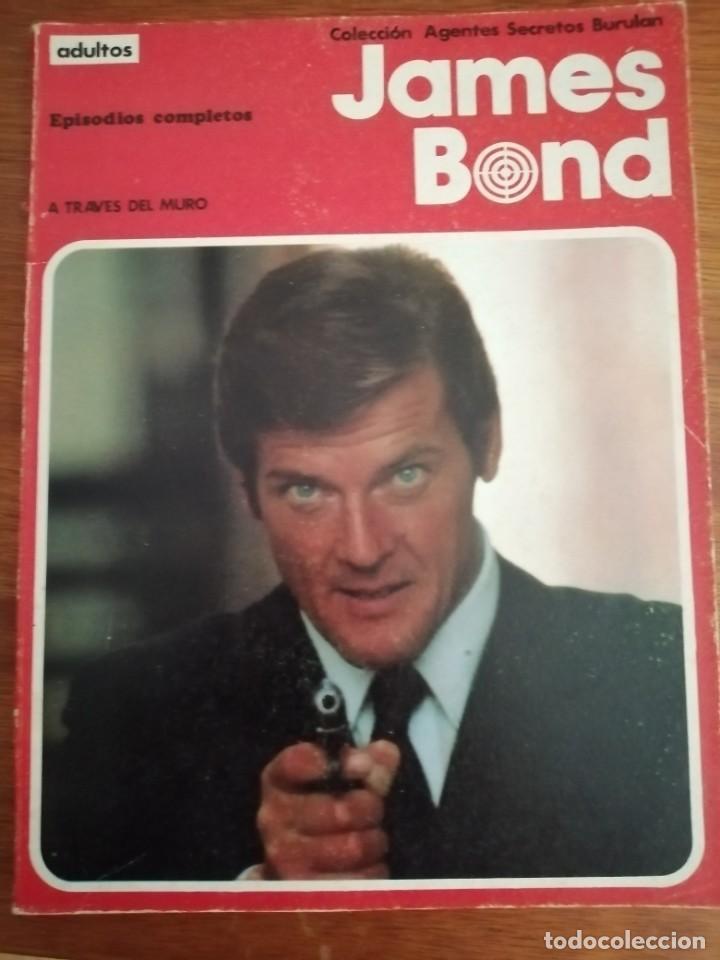 JAMES BOND A TRAVÉS DEL ESPEJO AGENTES SECRETOS BURULAN (Tebeos y Comics - Buru-Lan - James Bond)