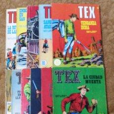 Cómics: TEX Nº 5, 8, 13, 14, 17, 20, 25, 29, 30, 36 Y 37 (BURU LAN 1970/72) 11 NOVELAS.. Lote 153475018