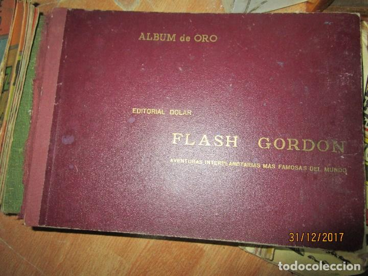 TOMO TEBEOS 6 ALBUM VI-VII-VIII -IX-X-XI-XII ORIGINAL FLASH GORDON ALBUM DE ORO EDITORIAL DOLAR (Tebeos y Comics - Buru-Lan - Flash Gordon)