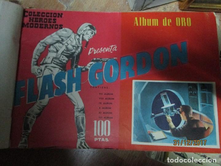 Cómics: TOMO tebeios ALBUM VII VIII IX X XI -XII ORIGINALES FLASH GORDON ALBUM DE ORO EDITORIAL DOLAR - Foto 4 - 215359735