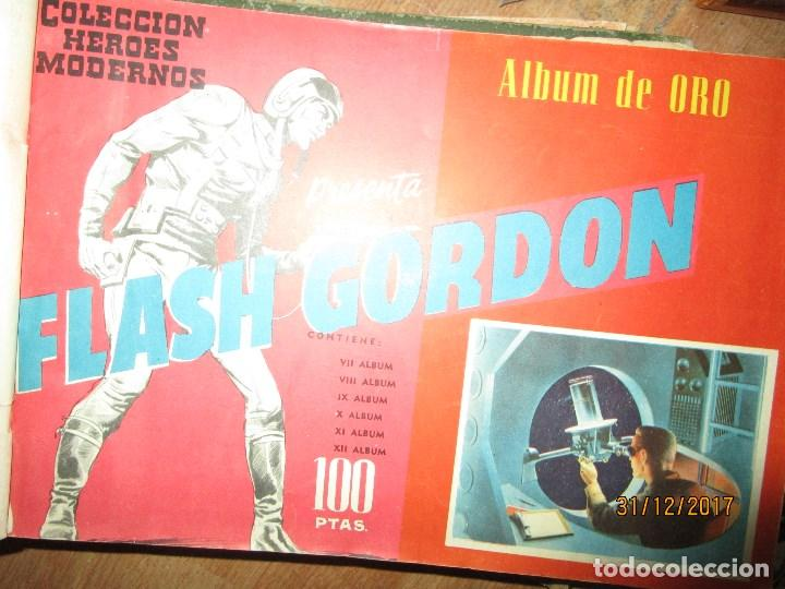 Cómics: TOMO TEBEOS 6 ALBUM VI-VII-VIII -IX-X-XI-XII ORIGINAL FLASH GORDON ALBUM DE ORO EDITORIAL DOLAR - Foto 10 - 215359735