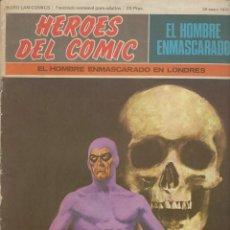 Cómics: LOTE HÉROES DEL CÓMIC: EL HOMBRE ENMASCARADO - 56 NÚMEROS **BURU LAN COMICS** SE VENDE POR SEPARADO. Lote 215509540