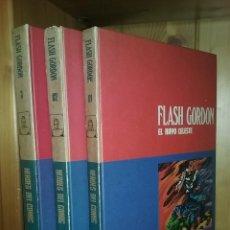 Cómics: FLASH GORDON, TOMOS 1 2 3, HEROES DEL COMIC, BURU LAN EDICIONES, 1972. Lote 215535260