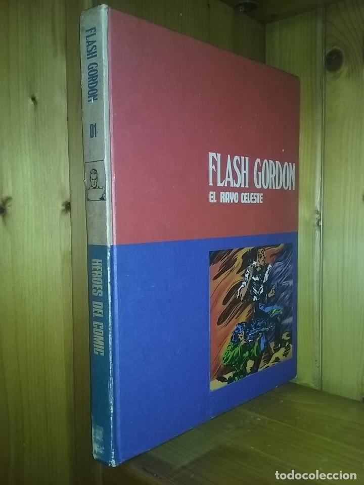 Cómics: FLASH GORDON, TOMOS 1 2 3, HEROES DEL COMIC, BURU LAN EDICIONES, 1972 - Foto 2 - 215535260