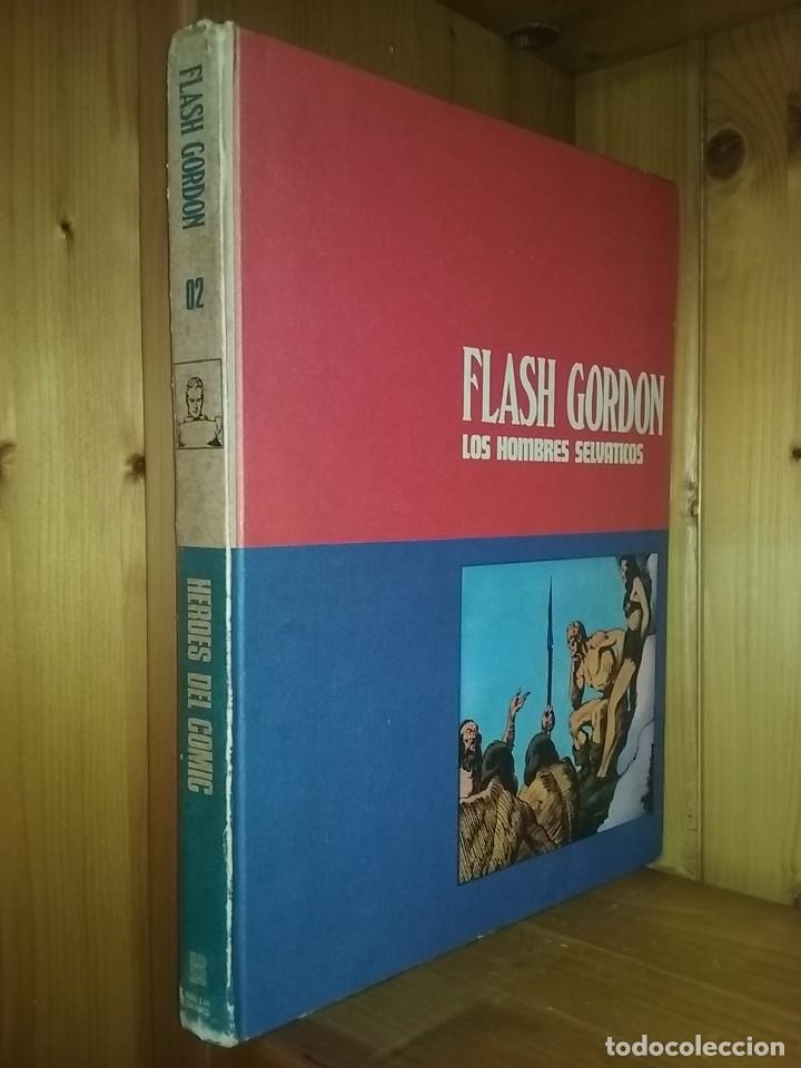 Cómics: FLASH GORDON, TOMOS 1 2 3, HEROES DEL COMIC, BURU LAN EDICIONES, 1972 - Foto 3 - 215535260
