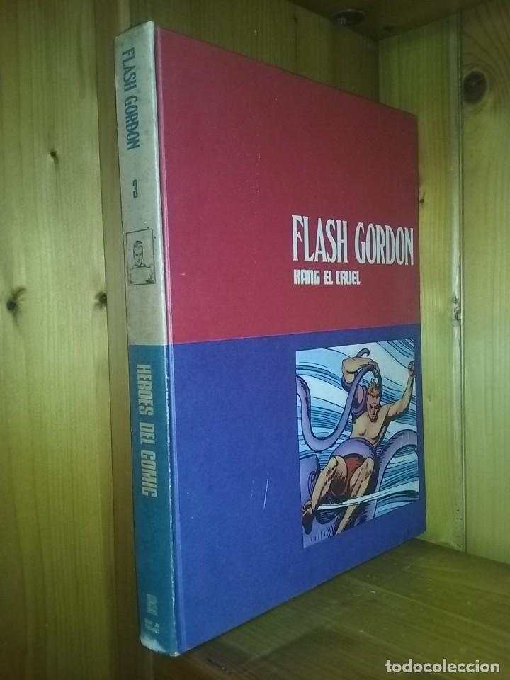 Cómics: FLASH GORDON, TOMOS 1 2 3, HEROES DEL COMIC, BURU LAN EDICIONES, 1972 - Foto 4 - 215535260