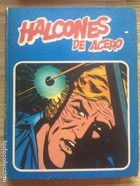 HALCONES DE ACERO , TOMO 1 - BURULAN - ENCUADERNADO (Tebeos y Comics - Buru-Lan - Halcones de Acero)