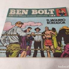 Cómics: BEN BOLT Nº 5 EL VAQUERO BOXEADOR. BURU LAN 1973. 25 PTS. BUEN ESTADO OFERTA. Lote 215808598