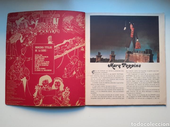 Cómics: MARY POPPINS - GIGANTES DISNEY, Nº 3 - 1ª EDICIÓN, 1973 - EDIT BURU LAN - WALT DISNEY PRODUCTIONS - Foto 2 - 216485213