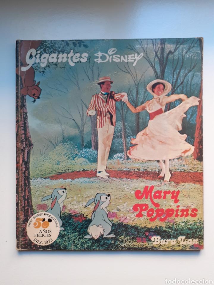 MARY POPPINS - GIGANTES DISNEY, Nº 3 - 1ª EDICIÓN, 1973 - EDIT BURU LAN - WALT DISNEY PRODUCTIONS (Tebeos y Comics - Buru-Lan - Otros)