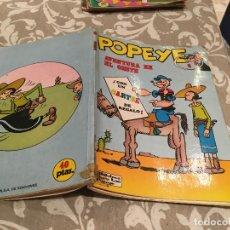 Cómics: POPEYE. Nº 6. AVENTURA EN EL OESTE. BURU LAN, 1971. Lote 216489580