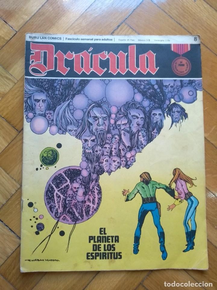 DRÁCULA Nº 8 - EL PLANETA DE LOS ESPÍRITUS (Tebeos y Comics - Buru-Lan - Drácula)