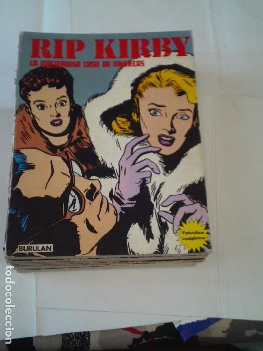 RIP KIRBY - BURU LAN - COLECCION COMPLETA - 12 TOMOS - GORBAUD (Tebeos y Comics - Buru-Lan - Rip Kirby)