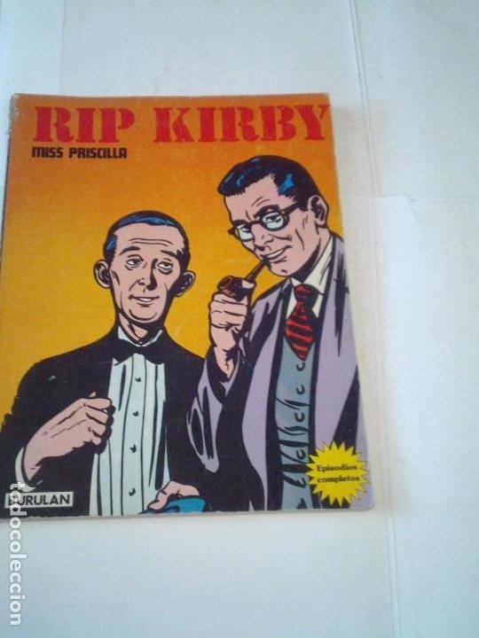 RIP KIRBY - BURU LAN - EPISODIOS COMPLETOS - MISS PRISCILLA - BUEN ESTADO - GORBAUD (Tebeos y Comics - Buru-Lan - Rip Kirby)