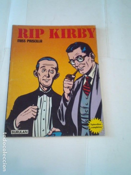 RIP KIRBY - BURU LAN - EPISODIOS COMPLETOS - MISS PRISCILLA - MUY BUEN ESTADO - GORBAUD (Tebeos y Comics - Buru-Lan - Rip Kirby)